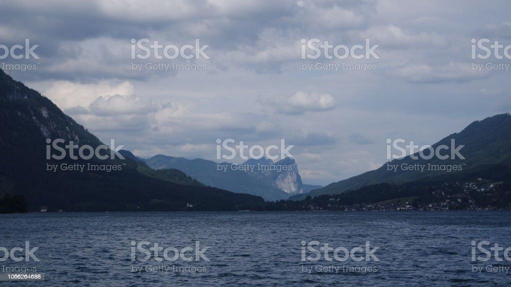 Blick auf den Attersee-See am Morgen – Foto