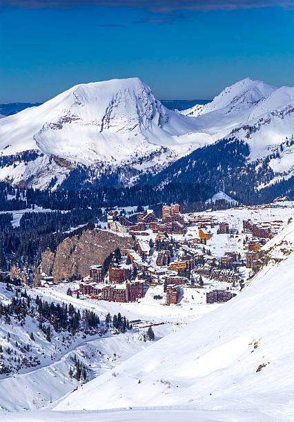 Vue du Avoriaz, France - Photo