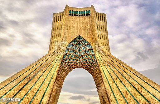 istock View of the Azadi Tower in Tehran 514730478