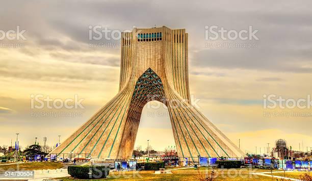 Ansicht Der In Teheran Azadi Turm Stockfoto und mehr Bilder von Architektur