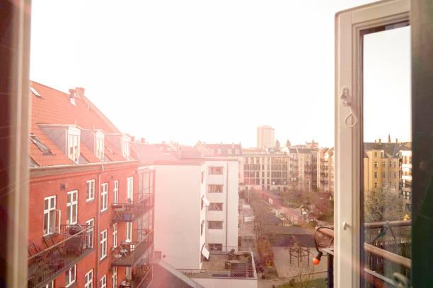 Ausblick auf den Hinterhof – Foto