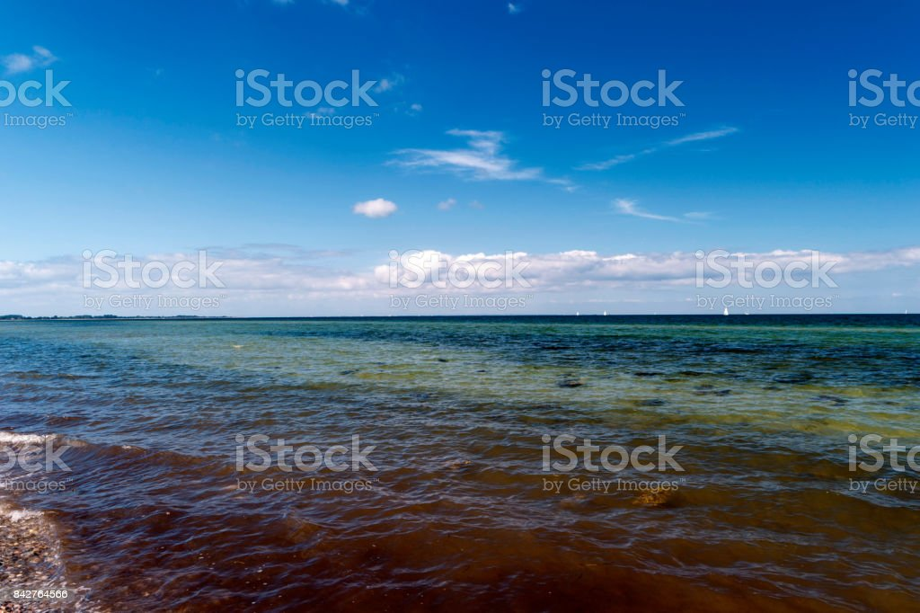 View of the Baltic Sea stock photo