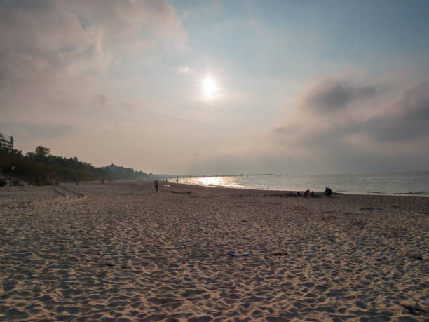 Blick auf den Strand – Foto