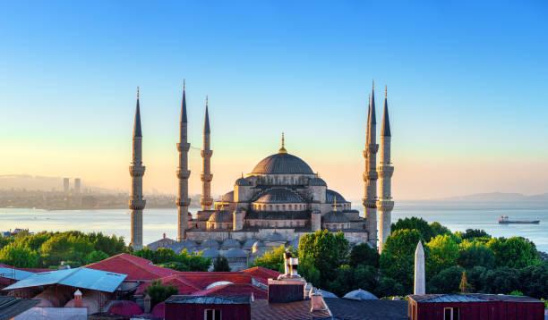 Blick auf die blaue Moschee – Foto