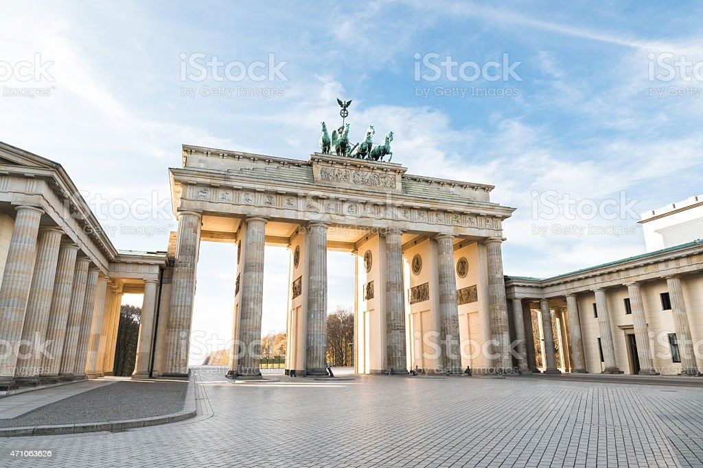 Brandenburger Tor In Berlin – Foto