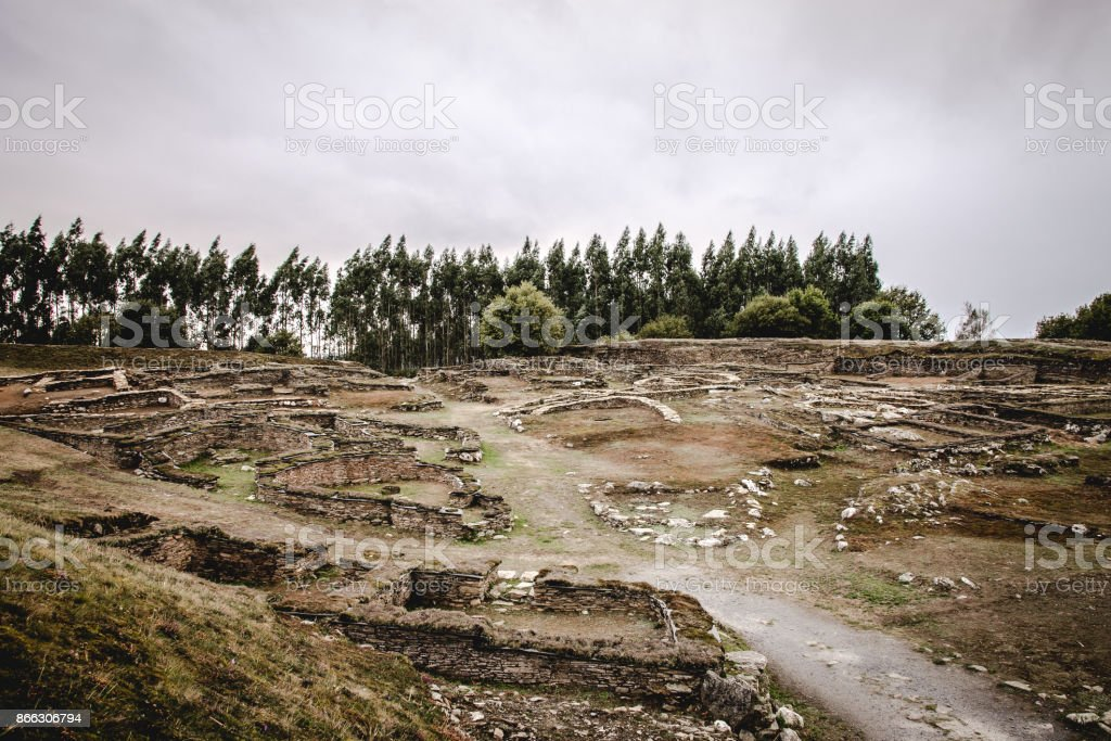 A view of the citadel stock photo