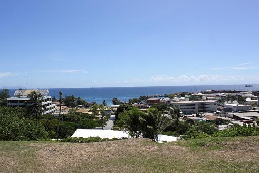 Blick Auf Die Stadt Von Den Solomon Inseln Parlamentsgebäude In Honiara Stockfoto und mehr Bilder von Fotografie