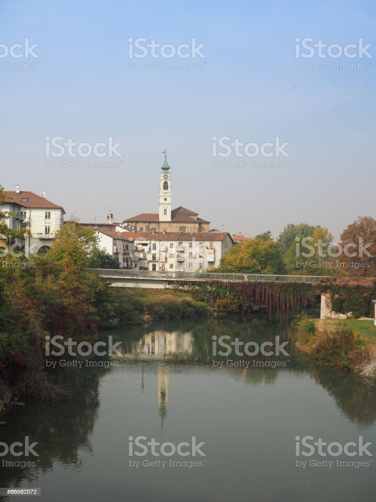 View of the city of Venaria stock photo