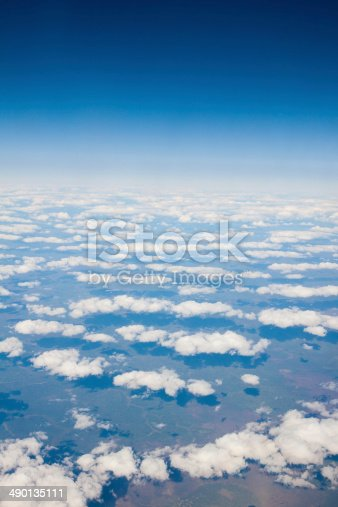 istock View of the clouds from the airplane 490135111