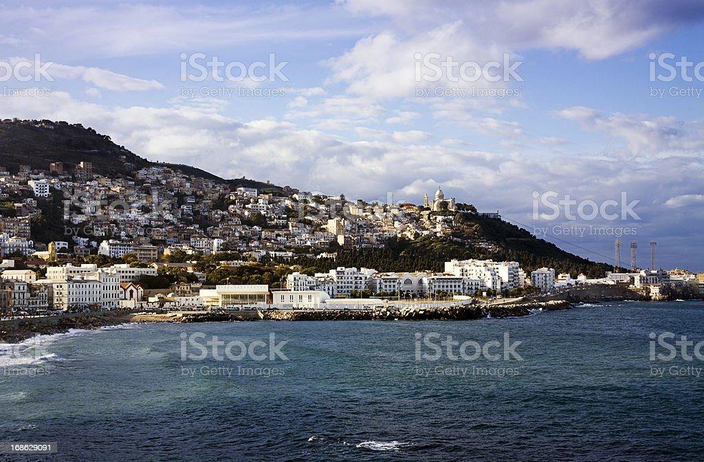 Blick auf die Küste über die Bucht von Algier – Foto