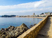 istock view of the coast from the medieval fortress of Villa Vella, Tos 681907918