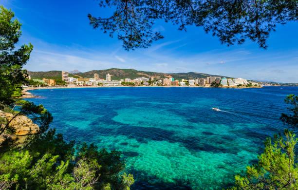 Sur la côte de Magaluf Majorque Espagne, mer Méditerranée - Photo