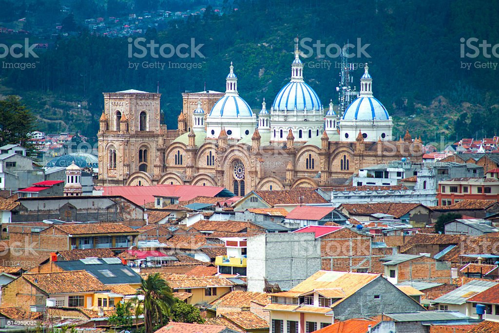 View of the Cuenca Cathedral