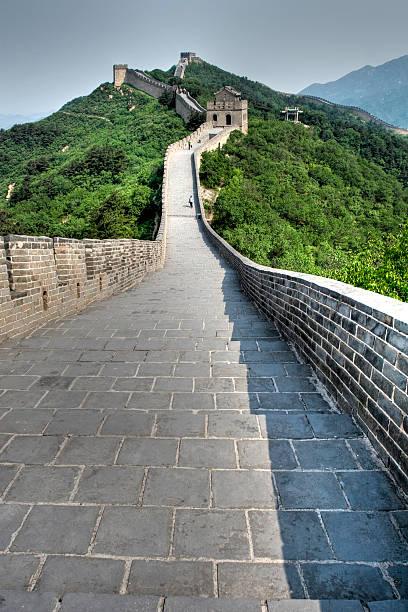 Homme sur la Grande Muraille - Photo