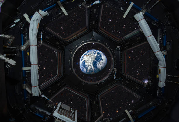 View of the earth from space. This image elements furnished by NASA