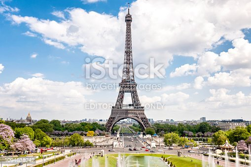 istock View of The Eiffel Tower in Paris France 1094638242