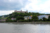 Bamberg, Germany - June 22, 2013: View of the embankment