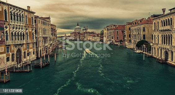 istock View of the Grand Canal and the Basilica of Santa Maria della Salute from the Academy Bridge. 1311231805