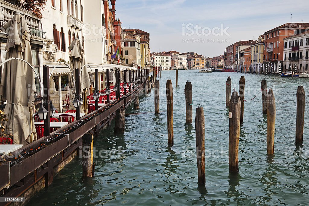 view of the Grand Canal royalty-free stock photo
