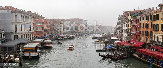 istock View of the Grande Canal from the Ponte di Rialto Bridge. 1304424952