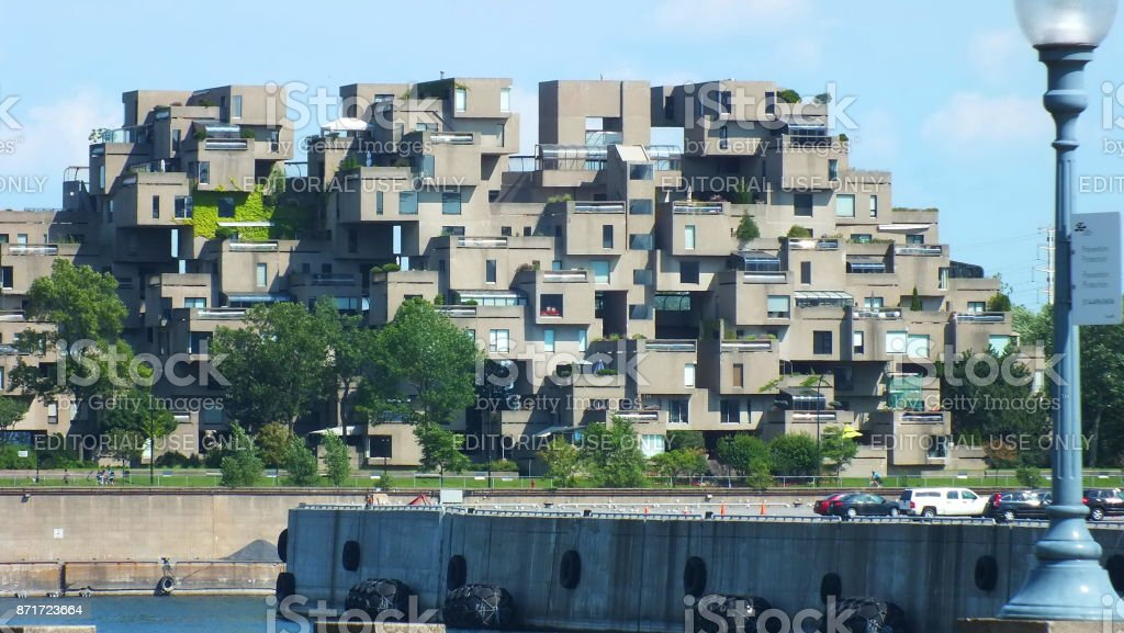 Montreal Quebec Canada July 31 2013 A View Of The Habitat 67 Apartments In  Montreal Was Built For Expo 67 Stock Photo U0026 More Pictures Of 1967 | IStock