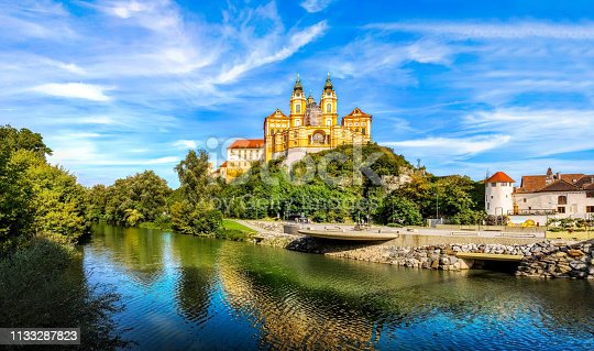Melk Abbey, Austria, Stift Melk, Famous, Summer