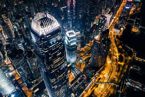 Hong Kong, Hong Kong Island, Two International Finance Center, Victoria Harbour - Hong Kong