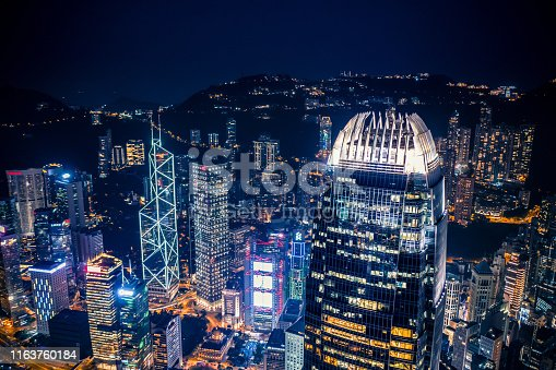 Central District - Hong Kong, Hong Kong, Hong Kong Island, Two International Finance Center, Victoria Harbour - Hong Kong