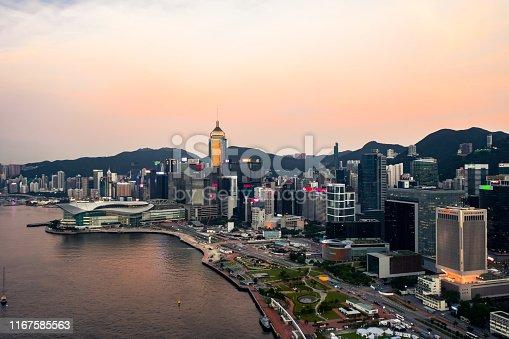 Hong Kong, Hong Kong Convention And Exhibition Center, Hong Kong Island, Victoria Harbour - Hong Kong, Wanchai