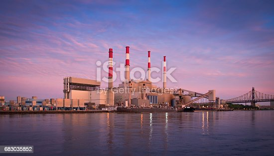 City, Cityscape, East River, Factory, Public Park