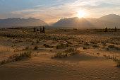 istock View of the Kodar Ridge. Chara sands. The region of baikal. 1287172277