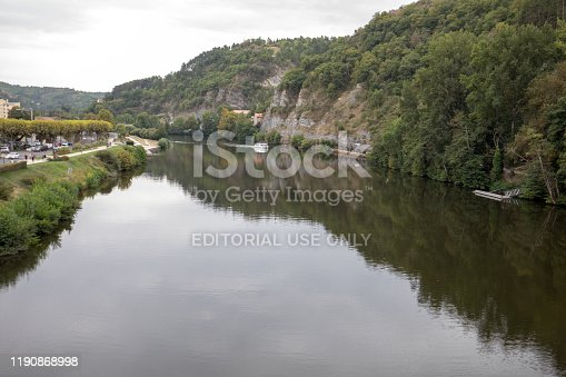 istock View of the Lot river valley in Cahors, France 1190868998