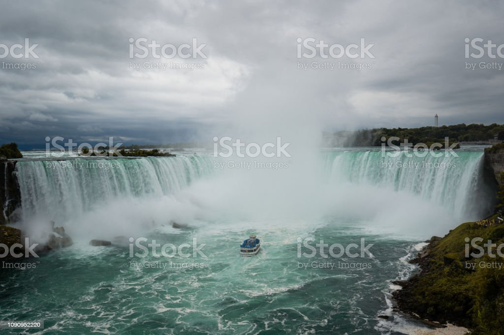View Of The Niagara Falls From Canada Side Stock Photo Download Image Now Istock