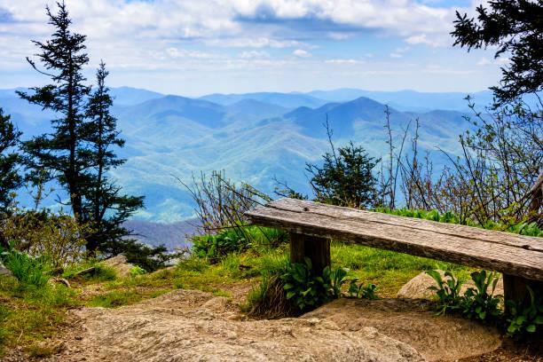 Blick auf die North Carolina Mountain Range – Foto