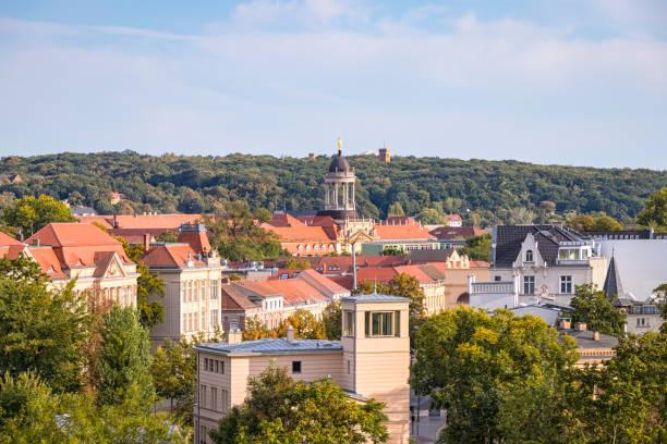 포츠담의 개조 된 올드 타운, 브란덴부르크의 전망. - 브란덴부르크 주 뉴스 사진 이미지