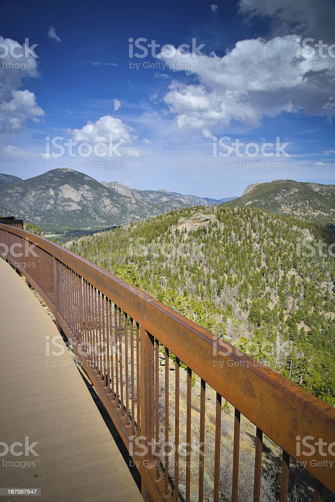 View of the Rocky Mountains in Colorado royalty-free stock photo