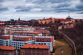 istock View of the roofs and houses of Vysehrad in Prague 1128464606