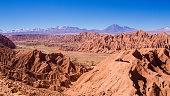 View of the San Pedro River in San Pedro de Atacama, Atacama Desert, Chile