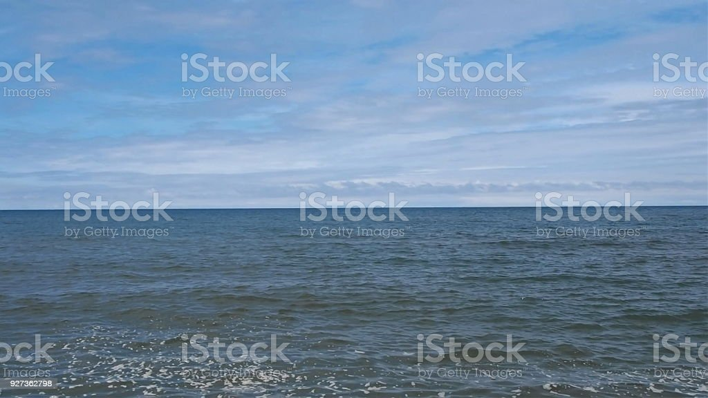 view of the sea background - Royalty-free Backgrounds Stock Photo