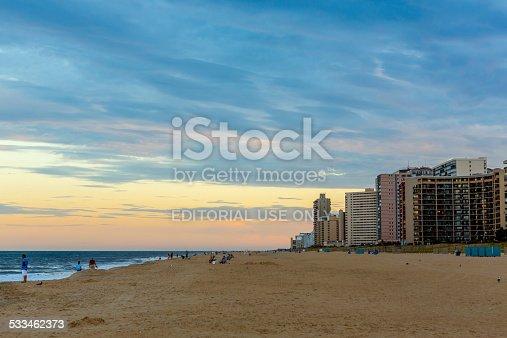 istock View of the seashore and beachfront hotels 533462373