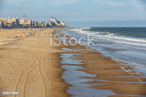 istock View of the seashore with beachfront hotels 533073995