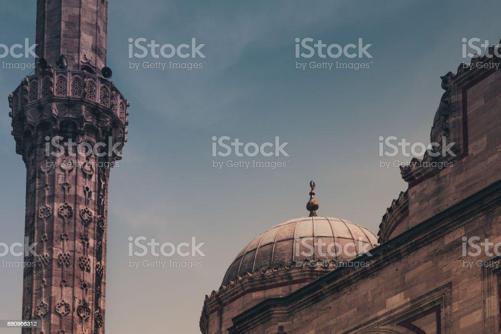 Blick auf die Sehzade Moschee. Istanbul. Turkei. – Foto