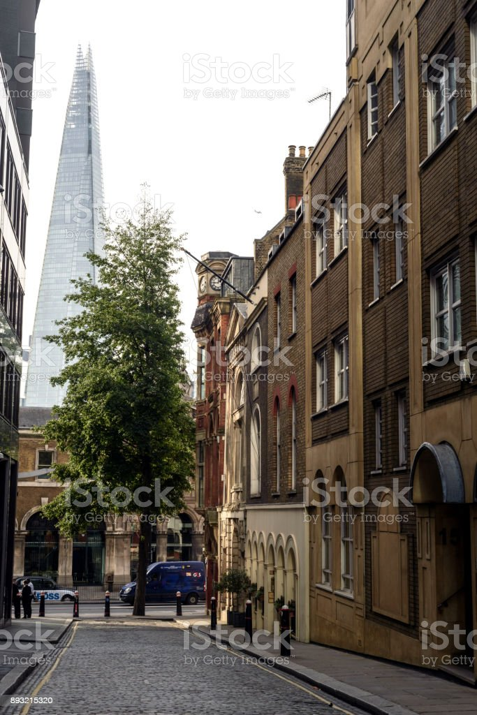 View of the Shard Building stock photo