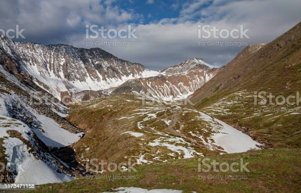 Photo of View of the Shumak Pass from the Shumak River