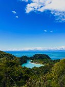 View of the Torrent Bay - New Zealand