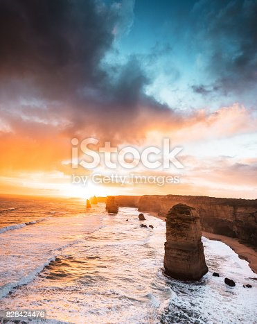 view of the twelve apostles in port campbell