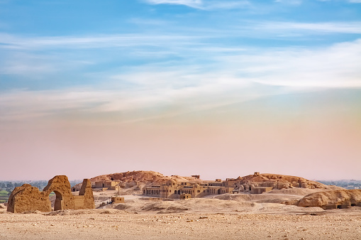 View Of The Valley Of The Kings Stock Photo - Download Image Now