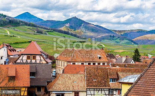 925850210istockphoto View of the Vosges mountains from Hunawihr - Alsace, France 472860012
