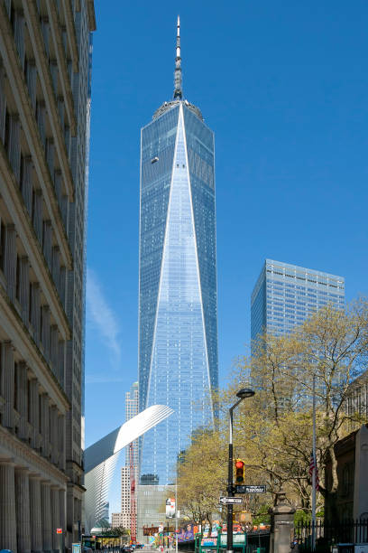 Blick auf das World Trade Center in Downtown Manhattan – Foto