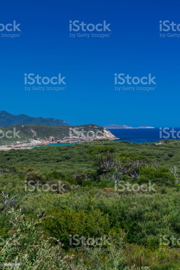 View of Tidal River on Wilsons Promontory National Park in South Gippsland, Australia royalty-free stock photo